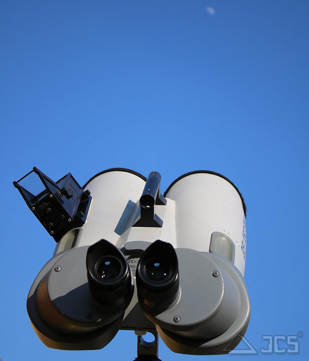 Vorführgerät eines Fujinon 25x150 EM ED mit 45° Einblick