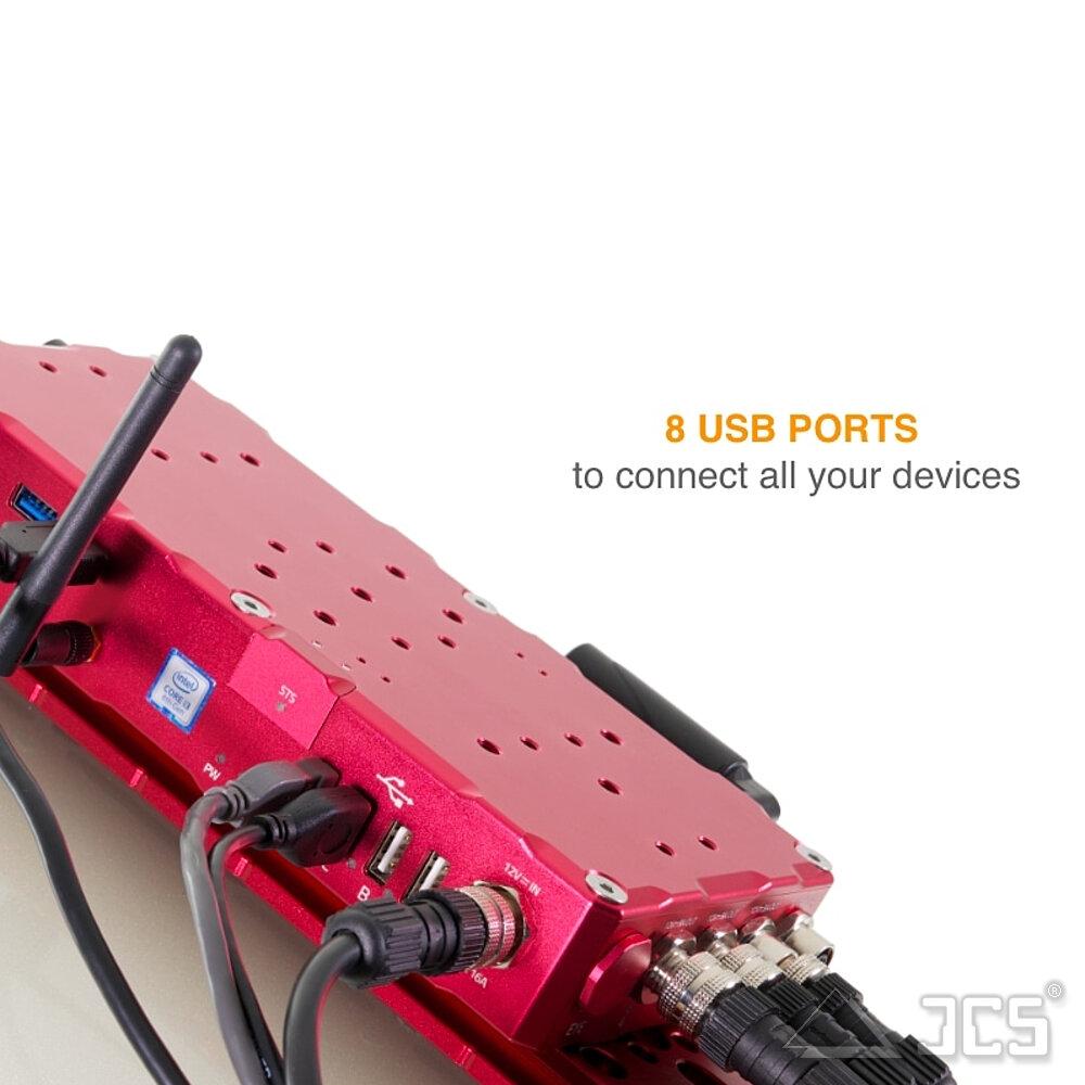 EAGLE4 USB-Ports und Schnittstellen