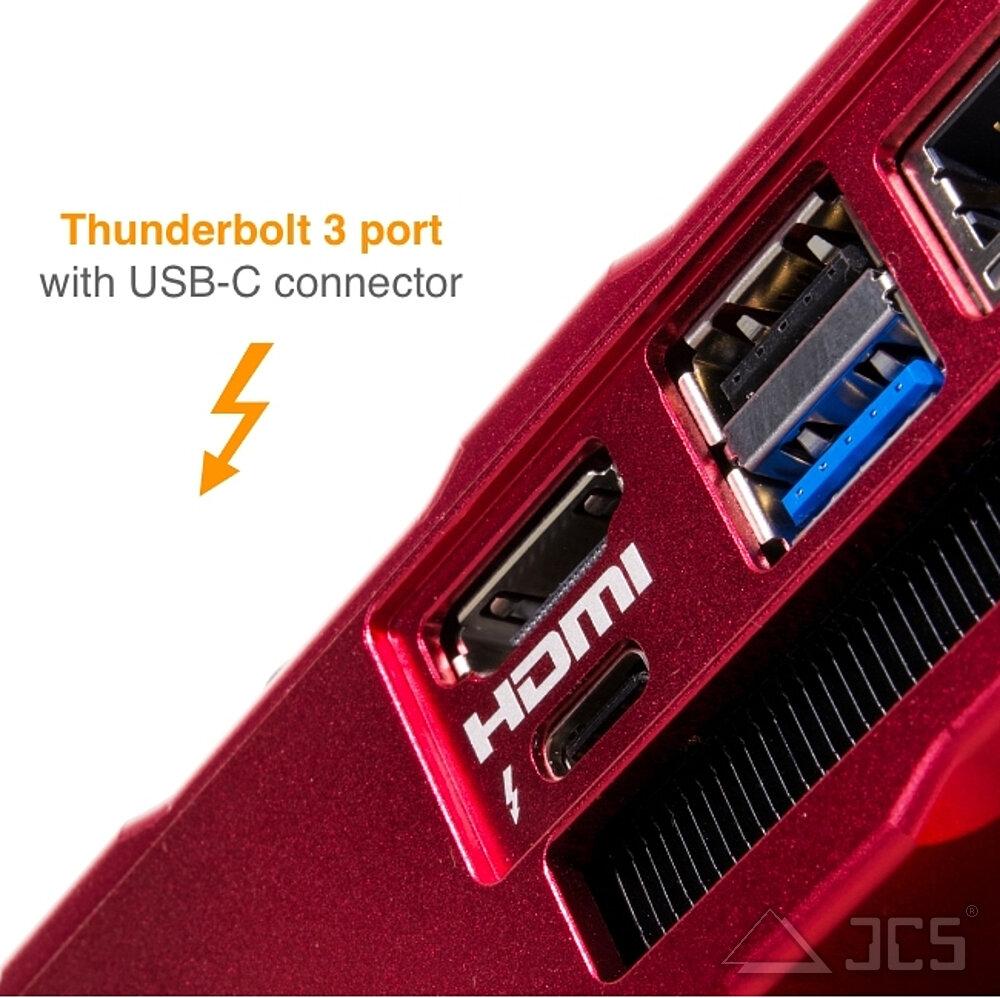 EAGLE4 Thunderbolt3 Schnittstelle
