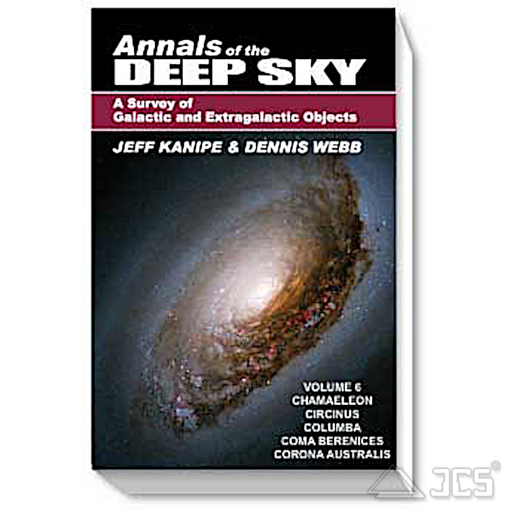 Annals of the Deep Sky Volume 6 - Band 6 - Titelbild