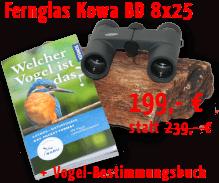 Kowa BD 8x25 mit Buch zur Vogelbestimmung