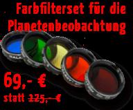 Farbfilterset für die Planetenbeobachtung