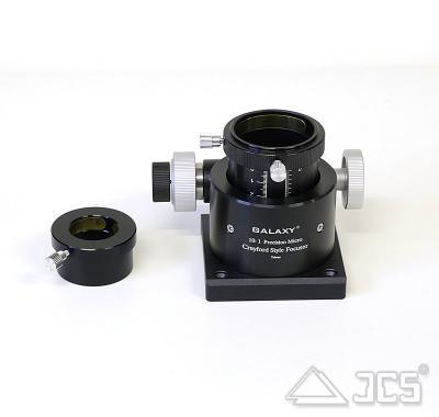 "2'' Galaxy Crayford-Okularauszug mit Microfokus D 230mm, incl. Adapter 2""/1,25"""