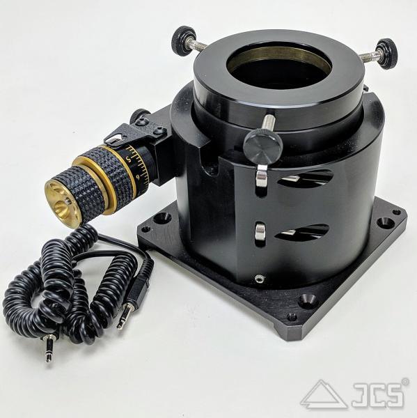 "3"" NGF-XTnM Crayford-Okularauszug Motor Newton-Basis, u. Adapter auf 2"""