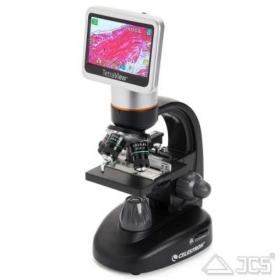 Celestron Tetraview digitales LCD-Mikroskop Durchlicht