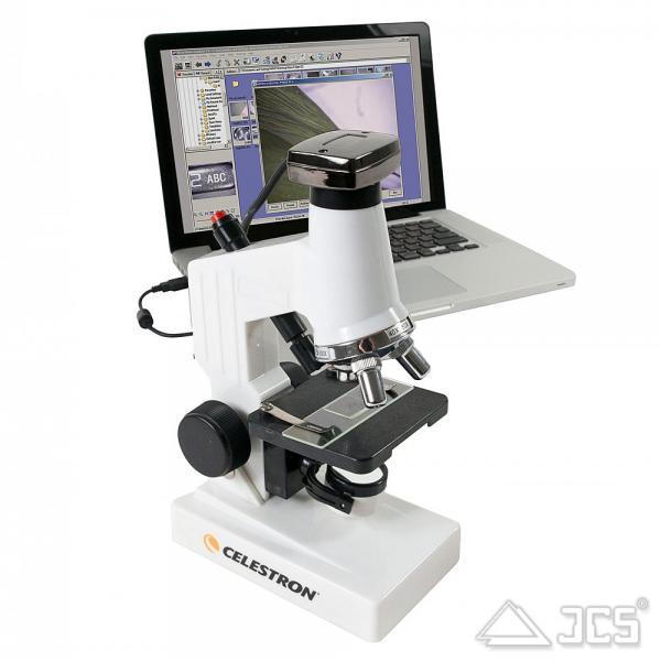Celestron DMK digitales biologisches Mikroskop Auf- und Durchlicht