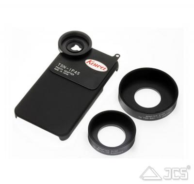 iPhone 5 Adapter KOWA TSN-IP5 mit Adapterringen D41 mm und D55 mm