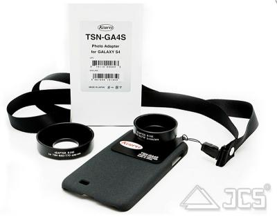 Samsung Galaxy S4 Adapter KOWA TSN-GA4S mit Adapterringen D41 mm und D55 mm