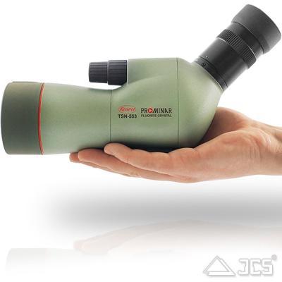 KOWA 55mm Spektiv TSN-553 Fluorit Schräg incl. Zoom-Okular 15-45x