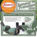 KOWA Set aus 50mm Spektiv TSN-501 und Bereitschaftstasche und Fernglax SV 8x25