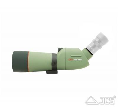 KOWA 66mm Spektiv TSN-663M ED Schräg PROMINAR mit ED-Linse und 45° Einblick