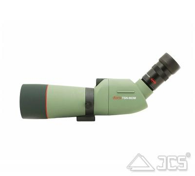 KOWA 66mm Spektiv TSN-663M ED Schräg SET mit Zoom-Okular 20-60x