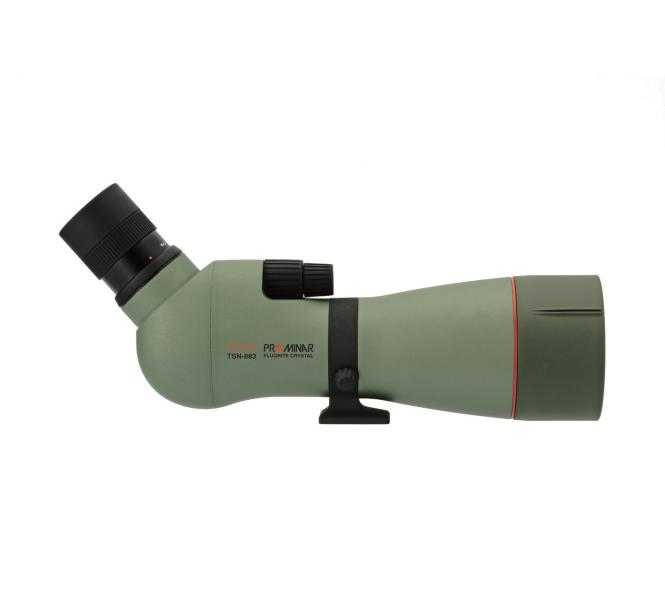 KOWA 88mm Spektiv TSN-883 Fluorit Schräg SET mit Zoom-Okular 25-60x