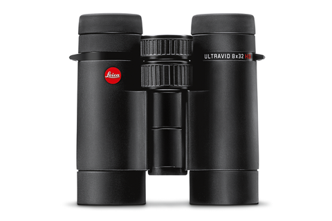 Leica ultravid 10x32 hd plus fernglas schwarz armiert mit aquadura
