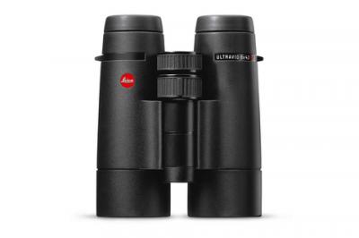 Leica Ultravid 7x42 HD-Plus Fernglas, schwarz armiert, mit AquaDura