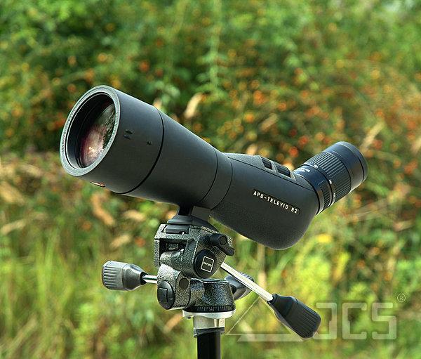 Leica APO-Televid 82, Winkel, Spektiv mit 45° Schrägeinblick