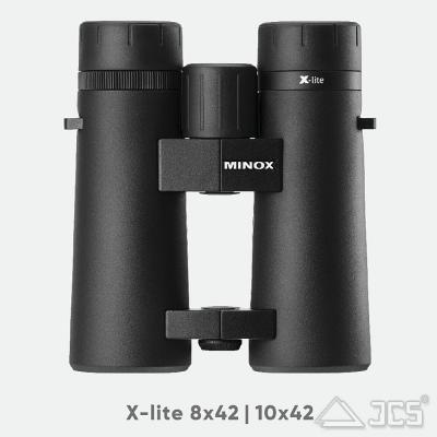 Minox Fernglas X-lite 10x42 incl. Tasche und Riemen