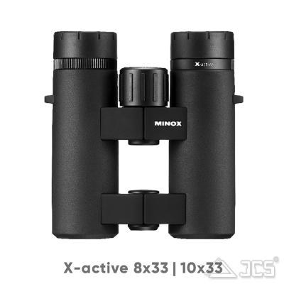 Minox Fernglas X-active 10x33 incl. Tasche und Riemen