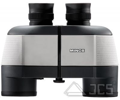 Minox Fernglas BN 7x50 weiß incl. Tasche, Riemen, Okular- und