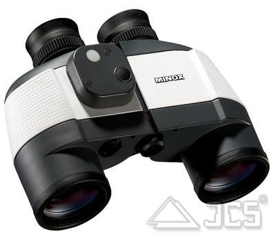 Minox Fernglas BN 7x50 C, Kompass, weiß