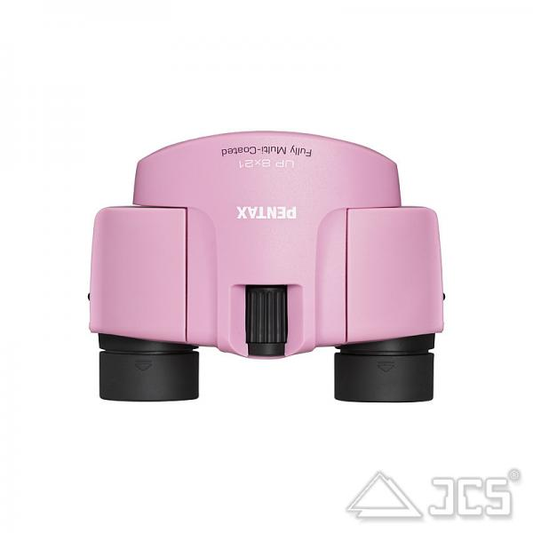 Pentax UP 8x21 Fernglas pink