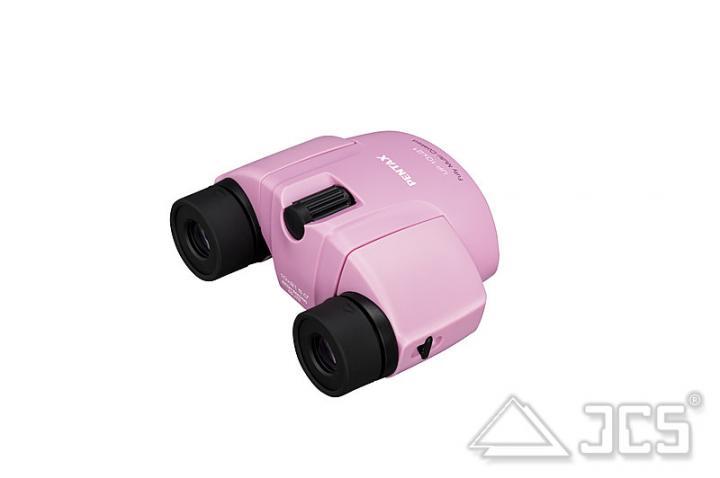 Pentax UP 10x21 Fernglas pink