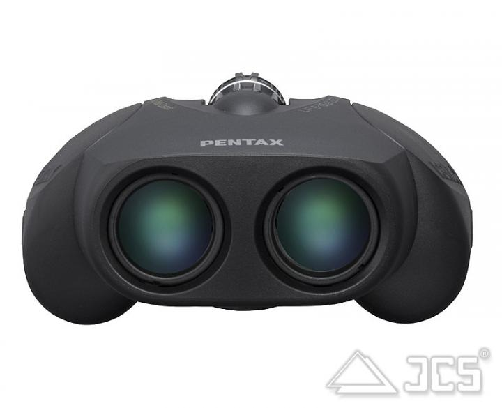 Pentax up zoom fernglas schwarz intercon spacetec