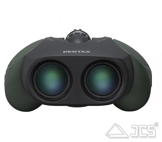 Pentax UP 8-16x21 Zoom Fernglas grün