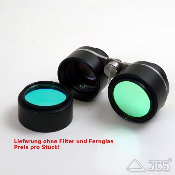 ICS Aufsteck Filterhalter für Vixen SG 2,1 x 42 mit Filtergewinde M48x0,75 schwarz eloxiert