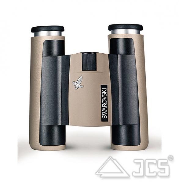 Swarovski CL Pocket 8x25 B sandfarben Fernglas, incl. Tasche u. Riemen