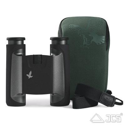 Swarovski CL Pocket 8x25 anthrazit, Wilde Nature Fernglas, incl. Tasche, Riemen, Microfasertuch