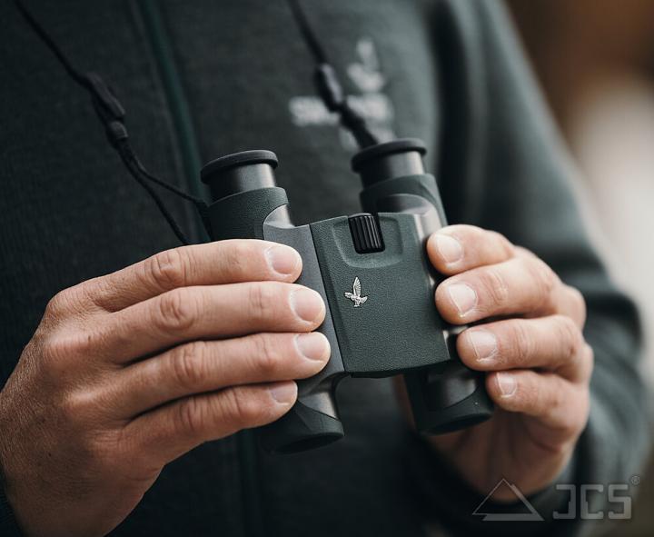 Swarovski CL Pocket 10x25 anthrazit, Wilde Nature, Fernglas, incl. Tasche, Riemen, Okularschutzdecke