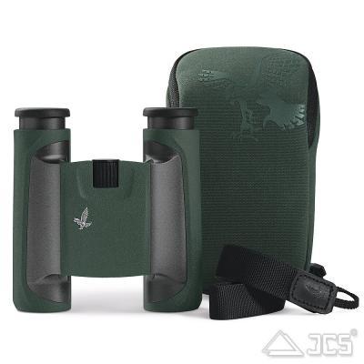 Swarovski CL Pocket 10x25 grün, Wilde Nature, Fernglas, incl. Tasche, Riemen, Okularschutzdeckel