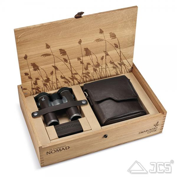 Swarovski CL Companion 10x30 Nomad Fernglas, Lederbezug