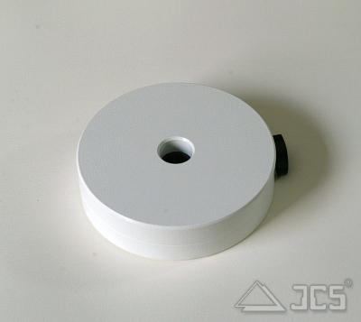 Gegengewicht 5kg, weiß, EQ5, HEQ-5, EQ6, EQ6-R Stangendurchmesser 18 mm