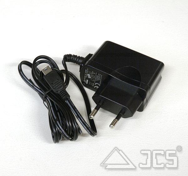 USB-Ladegerät Steckernetzteil HNP06-Mini USB 1 x 1200mA