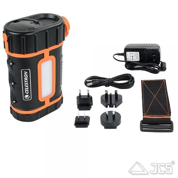 Celestron PowerTank Pro Stromversorgung LiFePO4 12V DC / USB 5V / 13,2 Ah Akku