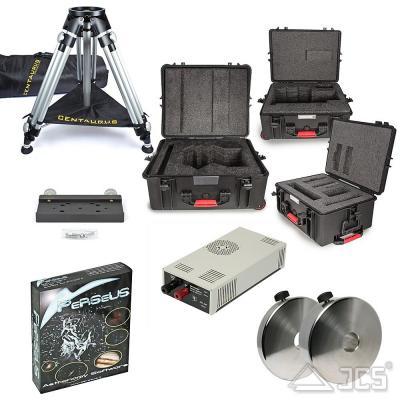 Zusatzpaket Professional für GM 2000 QCI/HPS Ultraport incl. Gegengewichte, Netzteil, Stativ, Koffer