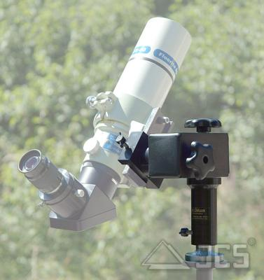 MicroStar Montierung V *Vorführgerät* mit Aufnahme / Prismenklemme für V-Schiene