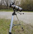 Bresser Newton 114/500mm mit Montierung AZ3 und Stativ **gebraucht**