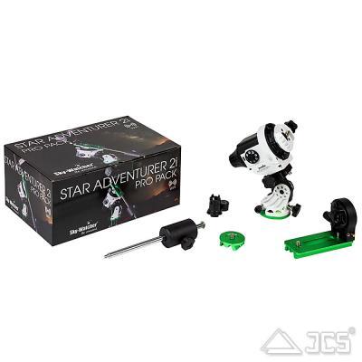 SkyWatcher Star-Adventurer 2i WiFi Pro Pack mit L-Halter, Polhöhe und Gegengewicht