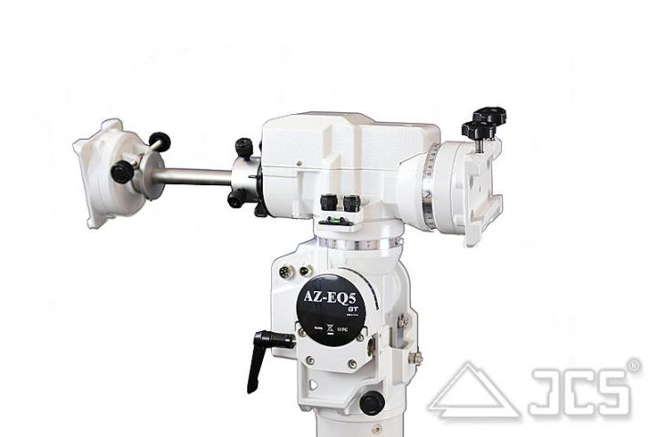 Skywatcher AZ-EQ5-Pro GoTo-Montierung 2 x 5kg Gegengewicht
