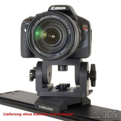 Losmandy DVCM2 Kamerahalter 3 Achsen mit Prismenklemme