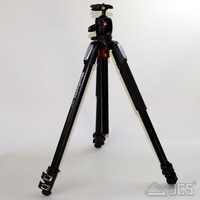 Manfrotto Stativ Kit MK055XPRO3-BHQ2 Stativ Alu mit Kugelkopf und Platte 200PL
