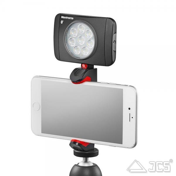 Manfrotto Pixi Smartphone-Klemme Stativadapter für Smartphone