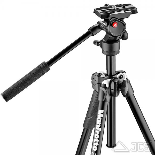 Manfrotto Video Kit MK290LTA3-V Alu-Stativ 290LT mit BeFree Live Fluid Kopf