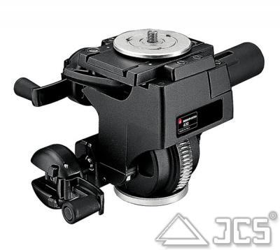 Manfrotto Getriebe-Neigekopf 400 incl. 3 Wechselplatte 400PL-LOW,