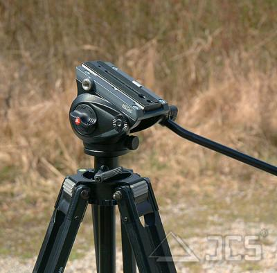Manfrotto Videoneiger kompakt MVH500AH mit flacher Basis