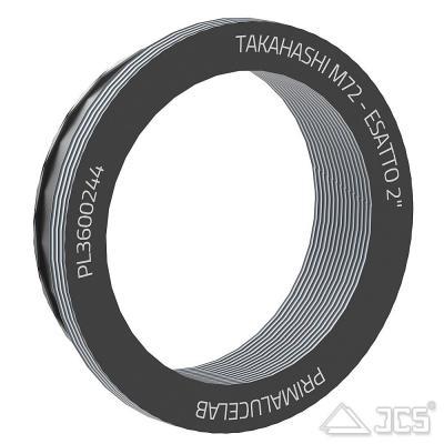"""PrimaLuceLab Adapter für Takahashi Teleskope mit M72 Gewinde für 2"""" ESATTO motorisierter Okularauszu"""