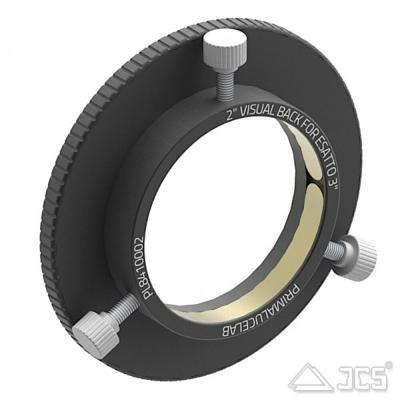 "PrimaLuceLab Adapter 2"" visuelles Equipment für 3"" ESATTO motorisierter Okularauszug"